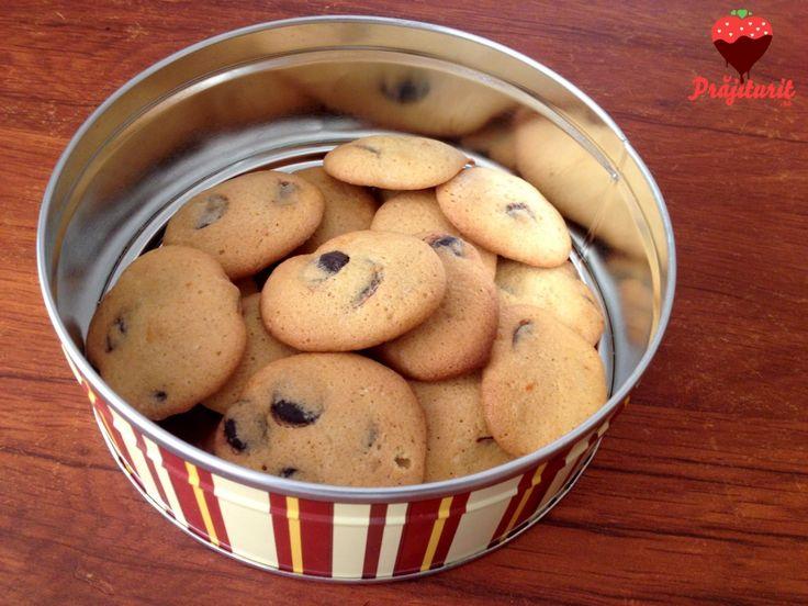 Cookies cu portocală și ciocolată