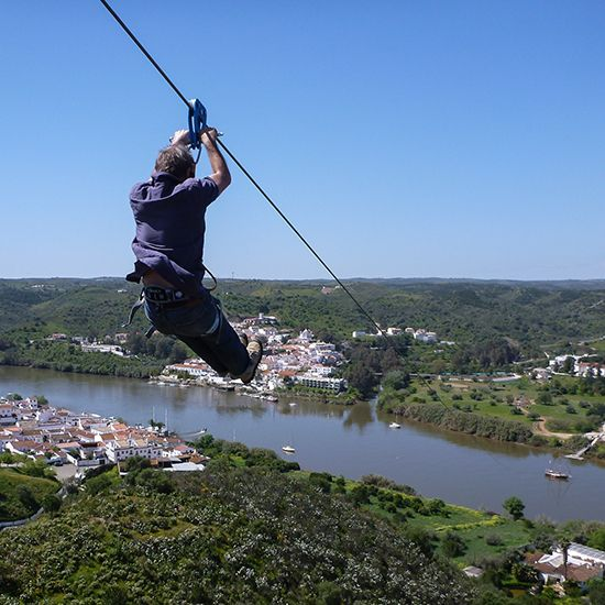 New Zipline Connects Spain and Portugal - Carry On | Travel + Leisure