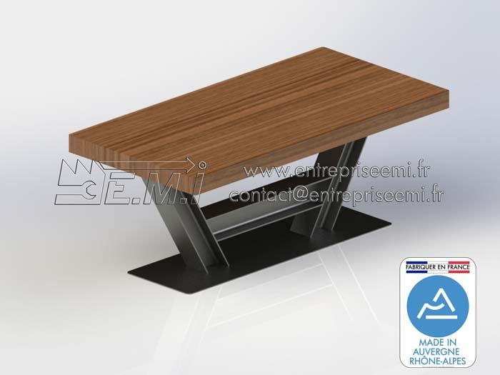 8 best pieds de table design en acier images on pinterest