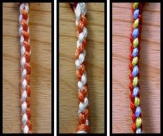 4 strand braid middle one is the one I am looking for