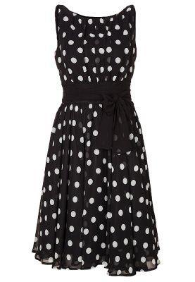 Sukienka koktajlowa - black/white
