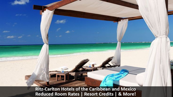 Ritz-Carlton Hotels of the Caribbean and Mexico - https://traveloni.com/vacation-deals/ritz-carlton-hotels-caribbean-mexico-2/ #caribbeanvacation #mexicovacation #luxury #spa #golf