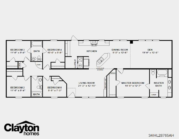clayton homes of harriman or modular house details for no 5 the henry