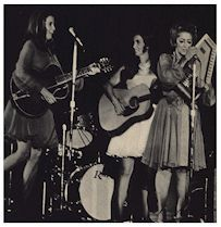 Carter sisters on stage