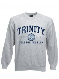 Trinity Crew Neck Sweat Grey