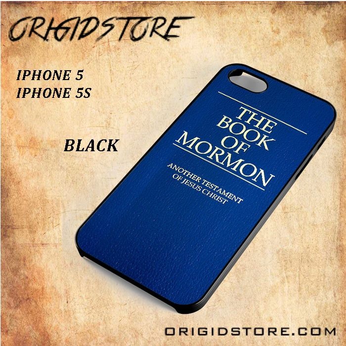 The Book Of Mormon Black White Snap On 3D For Iphone 5/5S Case