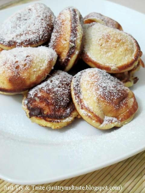 Just Try & Taste: Poffertjes Labu Kuning