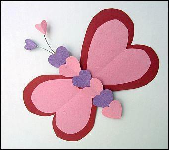 Valentine's butterfly