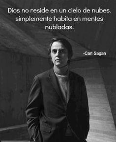 Ateismo para Cristianos.: Frases Célebres Ateas. Carl Sagan.
