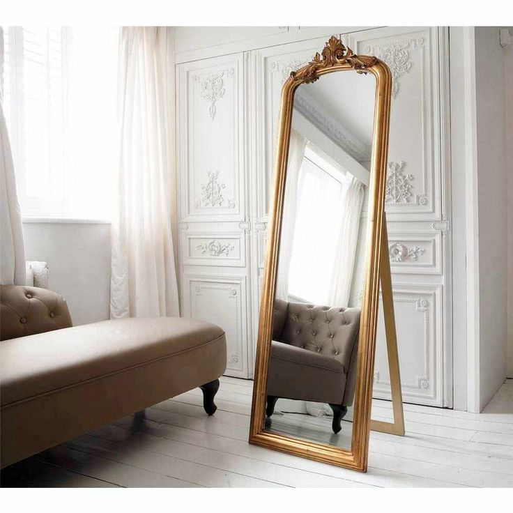 Glorious Gilt French Mirror - French Bedroom Mirror