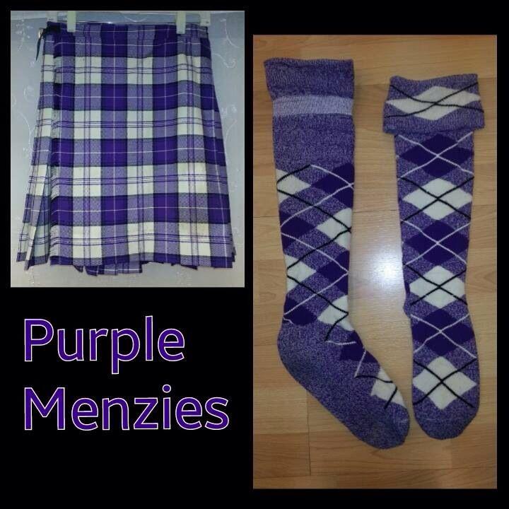 Purple Menzies - size 11-14yrs