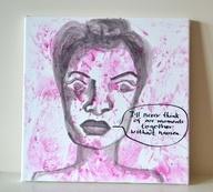 Original Painting - Nausea, $20