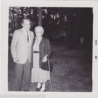 RED FOLEY COUNTRY MUSIC SINGER ORIGINAL FAN CONCERT SNAPSHOT PHOTO W/ SIG.