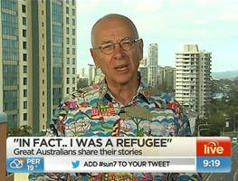 Some of Australia's greatest people share their refugee stories.