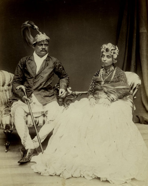 Maharaja and his Wife,1880