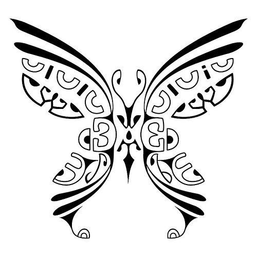 Tatuagem Polinésia - Maori - Tahiti – Tattoo - Polynesian Tattoo Borboleta - kirituhi | Flickr - Photo Sharing!