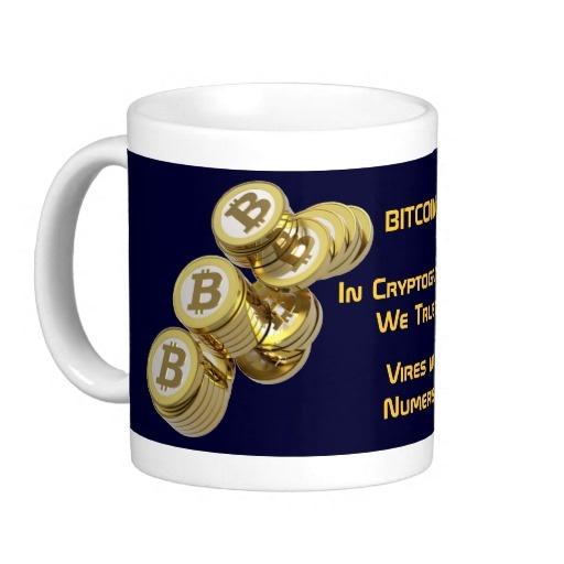 Taza Bitcoin - M5 Más artículos relacionados con el BITCOIN: http://www.zazzle.es/lamareanaranja/regalos?cg=196938480424491766