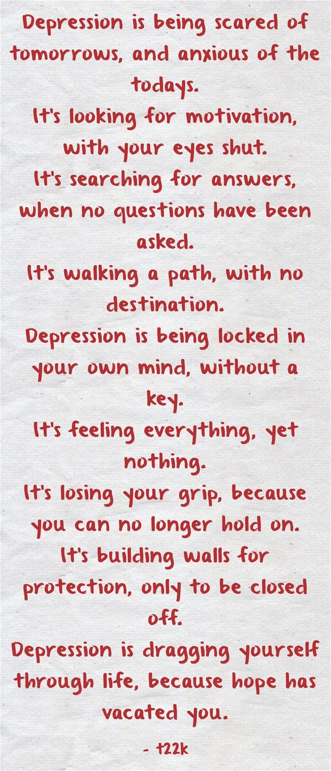 Sad Quotes About Depression: 25+ Best Ideas About Fighting Depression On Pinterest