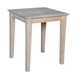 Shop for Unfinished Solid Parawood Shaker Tall End Table. Get free shipping at Overstock.com - Your Online Furniture Outlet Store! Get 5% in rewards with Club O!