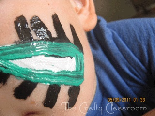 Australia crafts : face painting