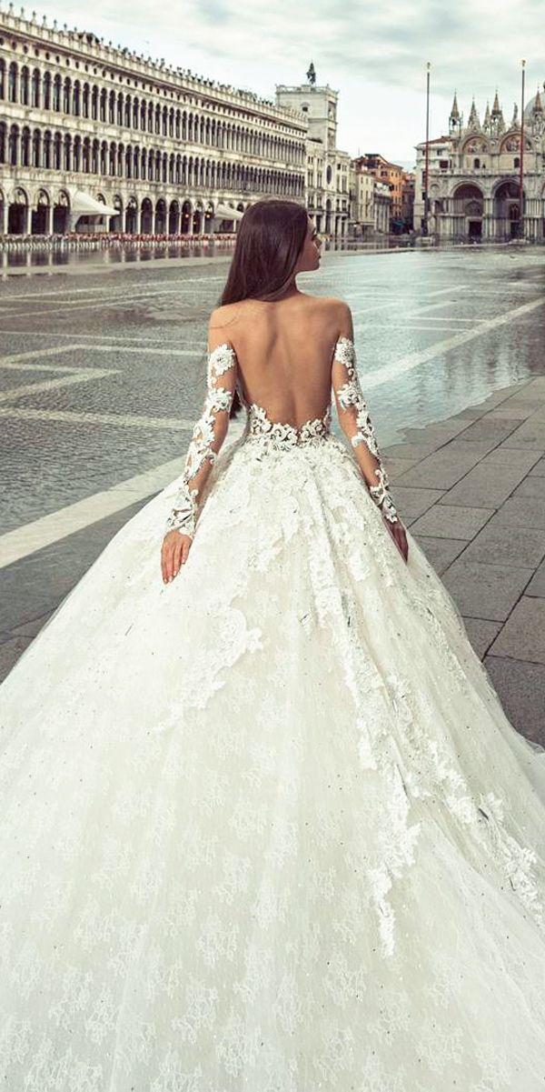 36 chic long sleeve wedding dresses   vestidos de novia, de novia y