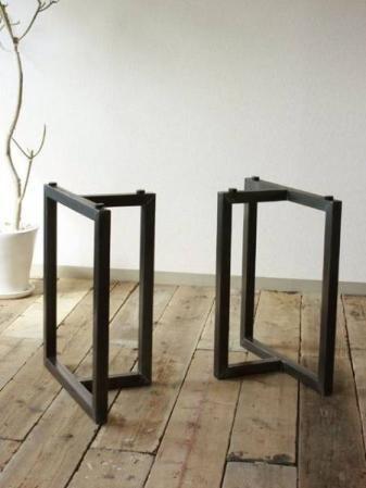 ヤフオク! - 「DIY テーブル 脚 アイアン」の検索結果 鉄脚 2WAY,40mm角,テーブル&座卓の脚に!