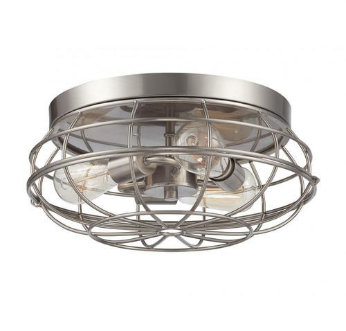 house lighting fixtures. off scout satin nickel 15 inch three light flush mount by savoy house ceiling fixtures bring industrial style with their wire lighting l