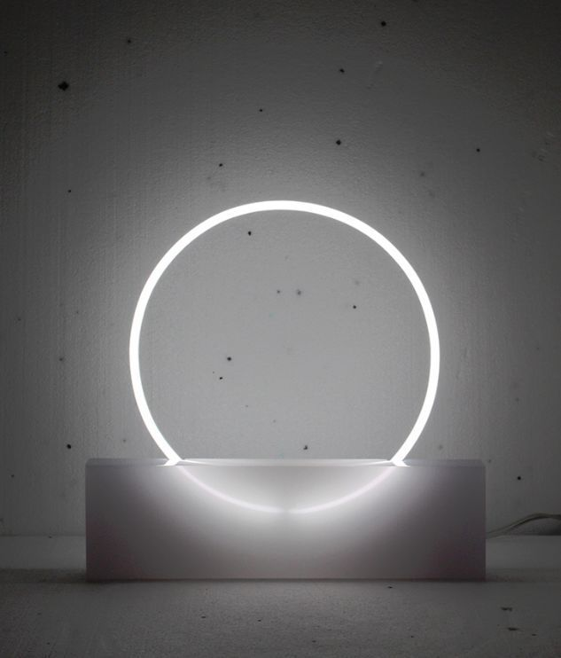 Circular Neon Lamps - These Neon Lamps Were Created to Examine the Manipulation…
