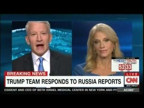 Anderson Cooper Calls Kellyanne Conway A 'LIAR' Over Shocking Trump Inf...