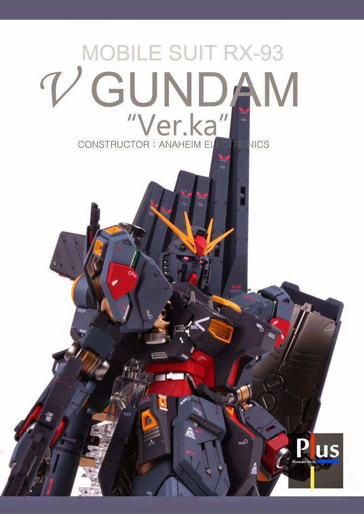 GUNDAM GUY: MG 1/100 RX-93 Nu Gundam - Customized Build