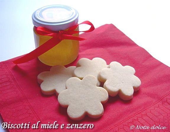 Biscotti al miele e zenzero, ricetta dolce