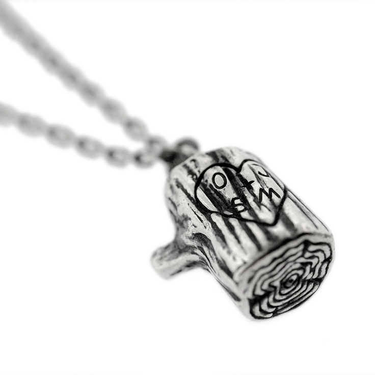 Personalized tree stump necklaceTrees Trunks, Gift, Tree Stumps, Style, Stumps Necklaces, Personalized Stumps, Jewelry, Products, Trees Stumps