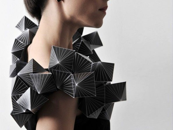 Amila Hrustic Geometric Dresses Platos Collection 4