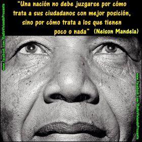Tomando Consciencia...: ''Nuestro miedo más profundo'' de Nelson Mandela. Las 75 grandes frases de Nelson Mandela