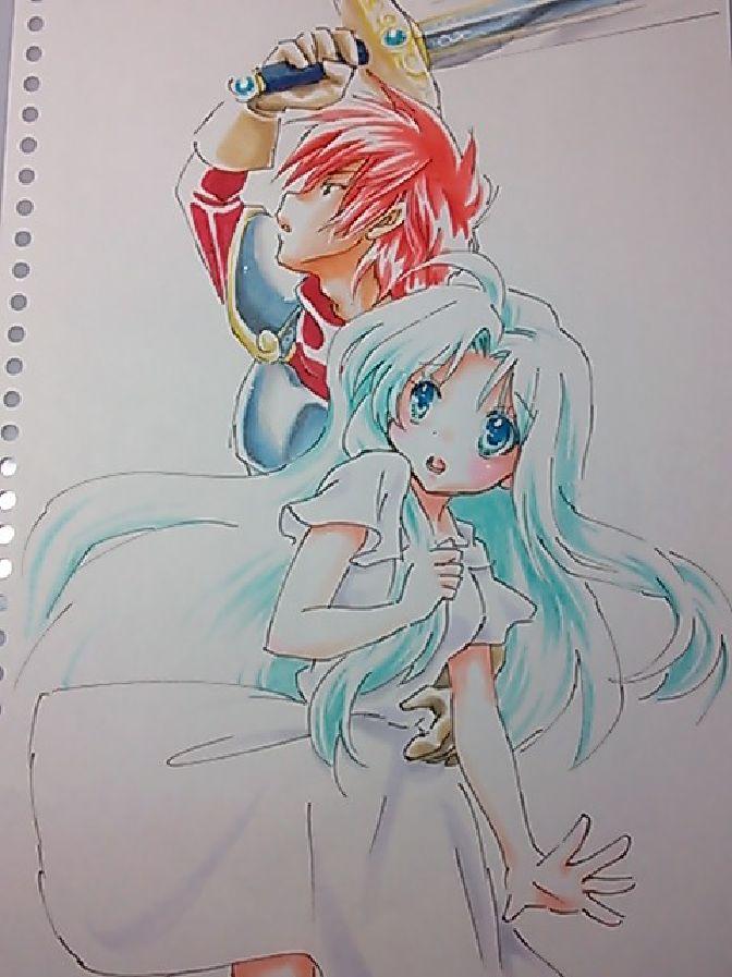 Adol and Feena