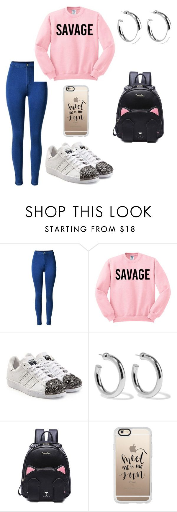 28 by espe-rebollo on Polyvore featuring moda, adidas Originals, Sophie Buhai and Casetify