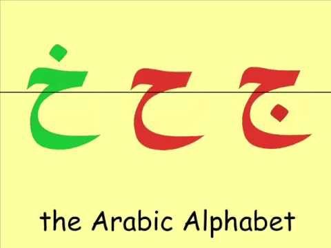 Arabic Alphabet Arabe Arabische Buchstaben Arap alfabesi الحروف العربية - YouTube
