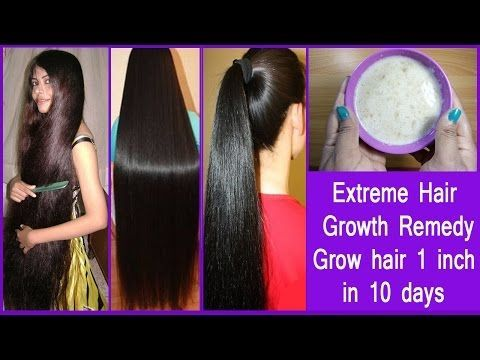 Extreme Hair Growth Remedy/ Stop Hair Loss – Grow Hair 1 Inch In 10 Days! - Herbal Remedy