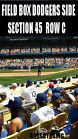 For Sale: 2 OR 4 LA Los Angeles Dodgers Tickets 8/23 NY Mets Dodger Stadium FIELD BOX http://sprtz.us/DodgersEBay