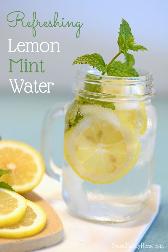 This summer drink recipe has fast become one of my favorites and I think it will become one of your favorites too.  This lemon mint water recipe is super simple to make but oh so refreshing. Just two ingredients, well three ingredients if you count the water, 30 minutes and you have a refreshing summer drink to enjoy on a hot summer day.