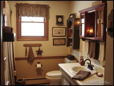 Primitive Bathroom Primitive Country Bathroomsprimitive Bathroom Decorcountry