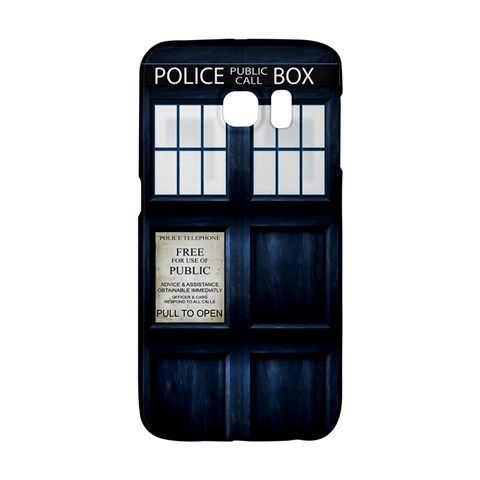 Tardis Samsung Galaxy S6 EDGE or S3/S4/S5/S6/S7/S7 EDGE/NOTE 2/NOTE 3/NOTE 4/NOTE 5 Case Wrap Around