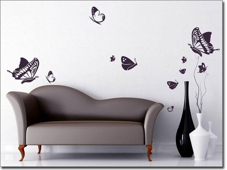 Amazing Wandtattoo XXL Set Schmetterlingstraum