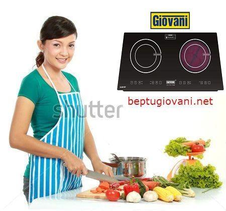 Đại lý cung cấp bếp điện từ Giovani G 281ET uy tín