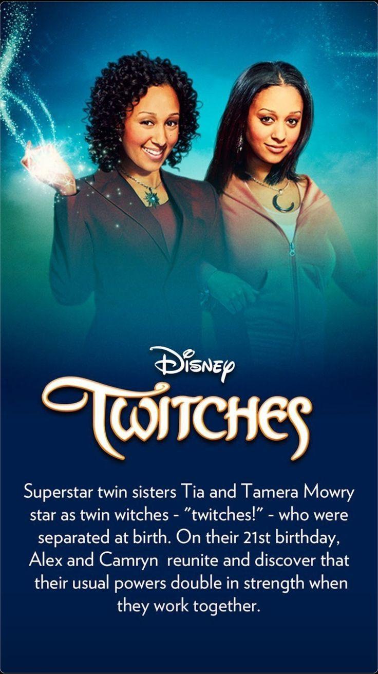 Disney Twitches Brujillizas Twin Sisters Tia And Tamera Mowry Twitch