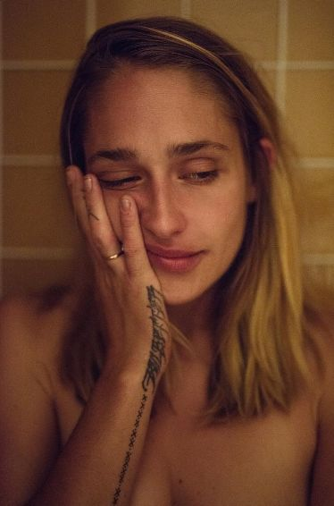 "seethingsnoonecandream: "" ""You dance on the edge of the cliff but you never fall off"" Jemima Kirke photographed by Katie Mccurdy in New York. """