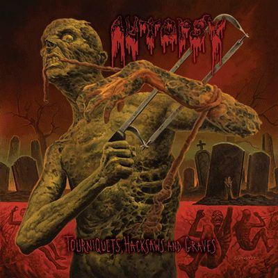 Autópsia - Torniquetes, serrote e Graves - 2013 capa do álbum original.  FELIZ DIA DAS BRUXAS
