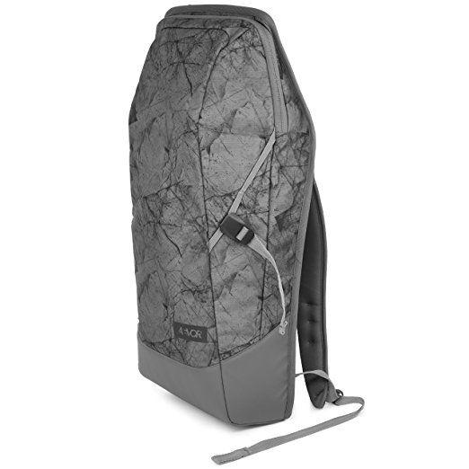 AEVOR Daypack Rucksack für die Uni und Freizeit inklusive Laptopfach und erweiterbar auf 28 Liter Golden Hour - senf, dunkelgrau: Amazon.de: Koffer, Rucksäcke & Taschen