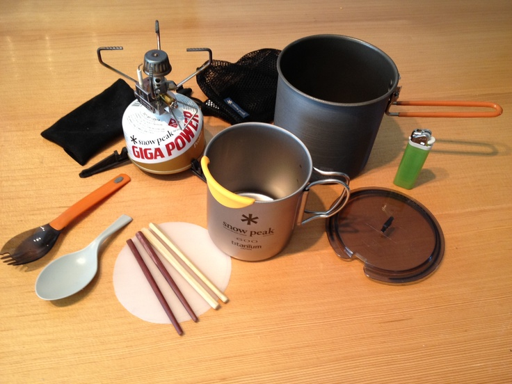 Here's my cook kit set up when cooking for 2-4 people. GSI