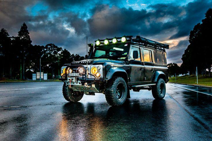 Promo shoot - Misadventure 4WD - Land Rover Defender 110